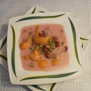 Joghurtos gyümölcsleves Salamon Csillától