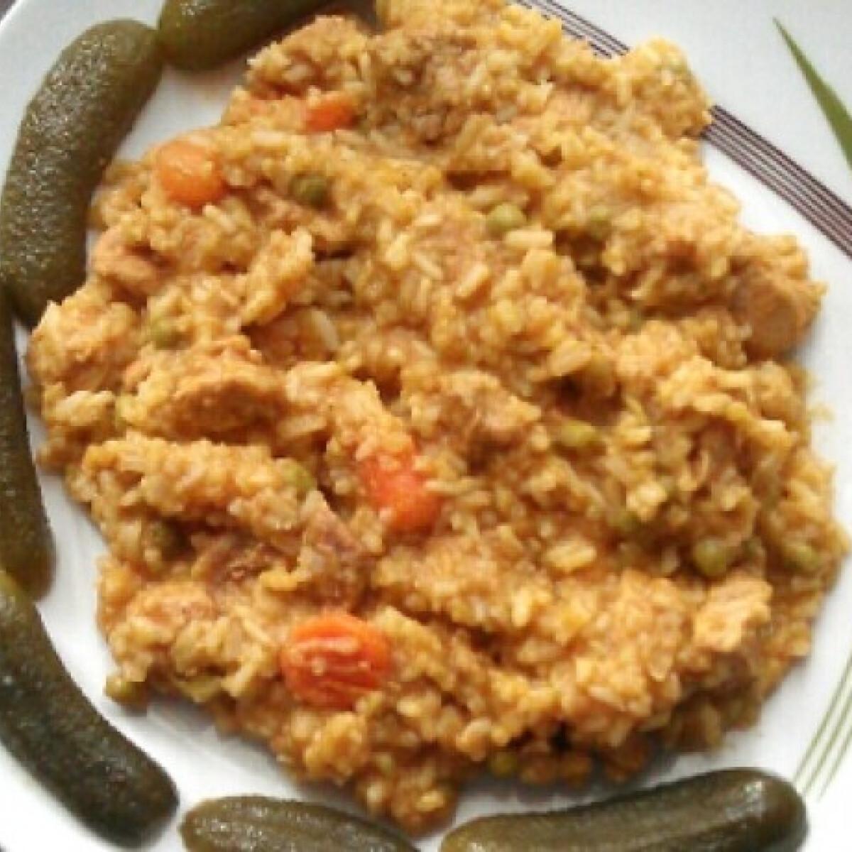 Szaftos rizses hús Mexxitől