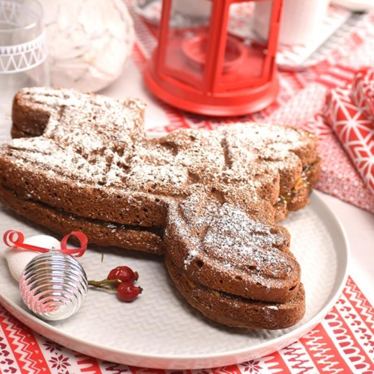 Ezen a képen: Kávés-narancsos rénszarvas süti