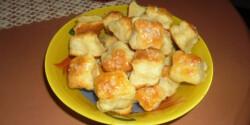 Sütőporos túrós pogácsa