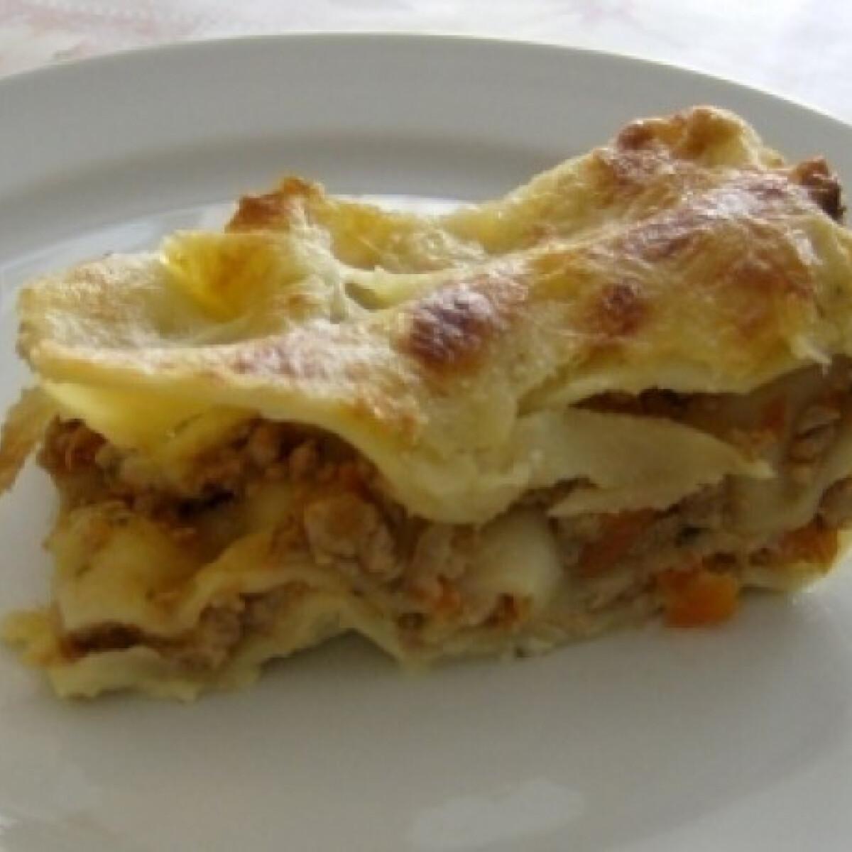 Ezen a képen: Lasagne Bolognese (Lasagne 3.)
