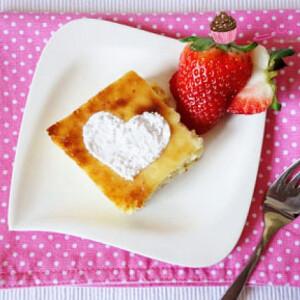 Könnyű túrós süti Vikkitől