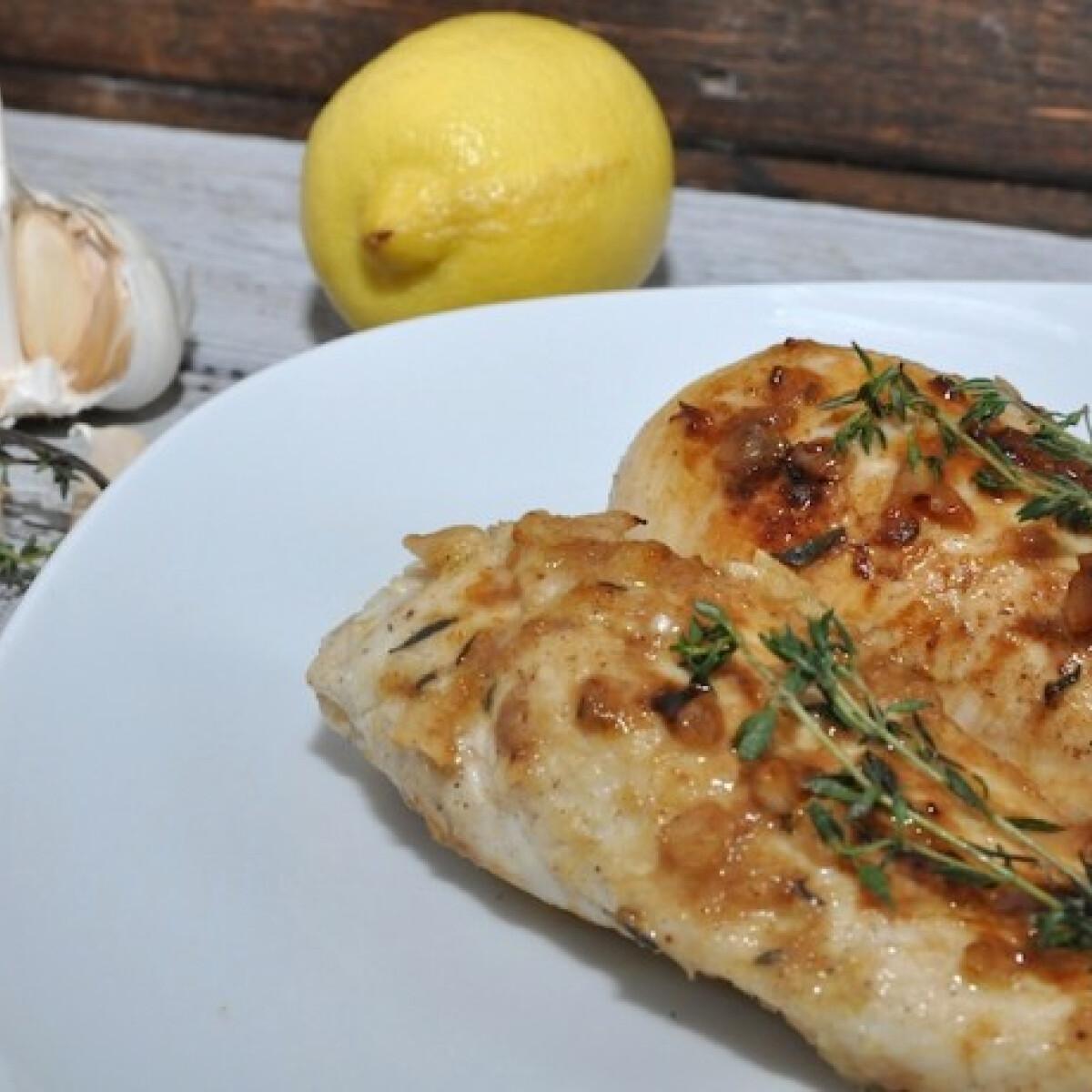 Ezen a képen: Citromos csirke sütőben Grétitől