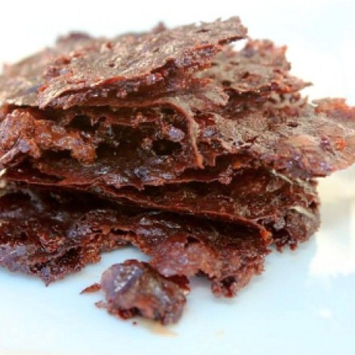 Ezen a képen: Ropogós csokis chipsek