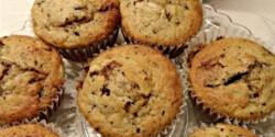 Csokis-banános muffin Olgitól