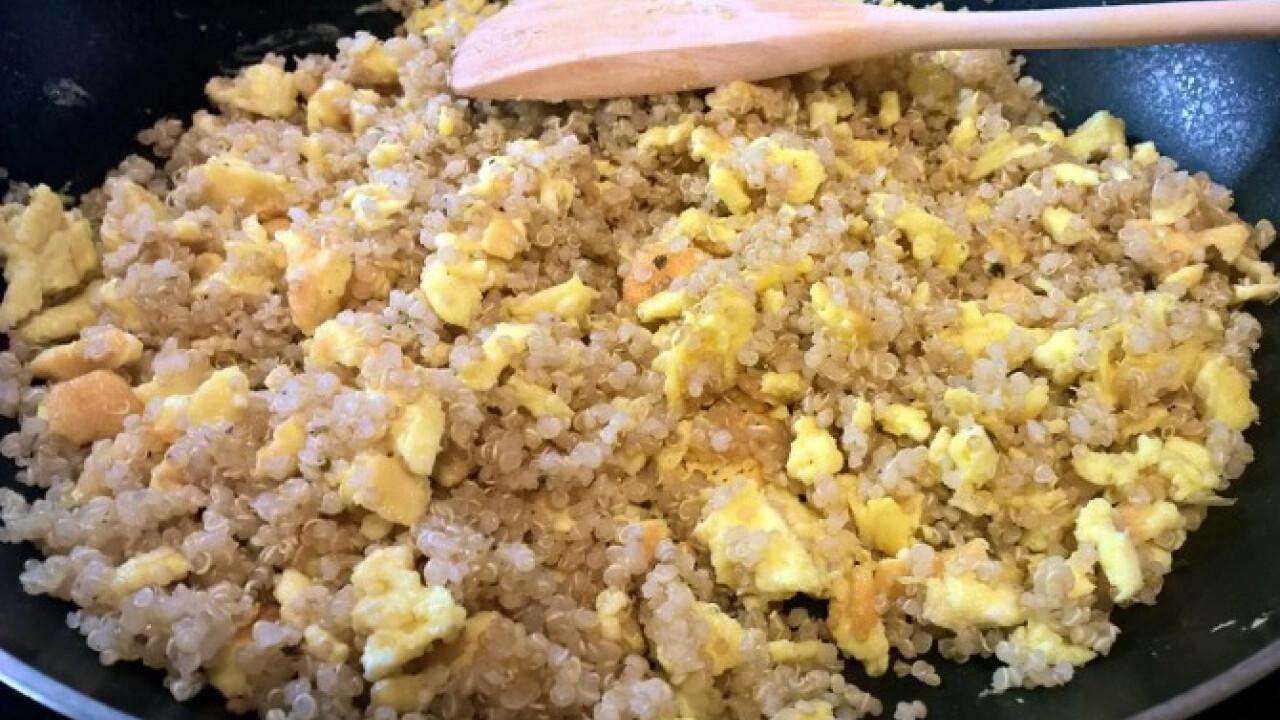 Tojásos quinoa
