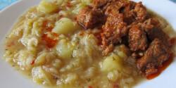 Kelkáposzta-főzelék Helga konyhájából