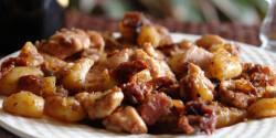 Olaszos csirkeragu