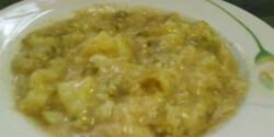 Kelkáposzta főzelék Recept képpel - eroszakmentes.hu - Receptek