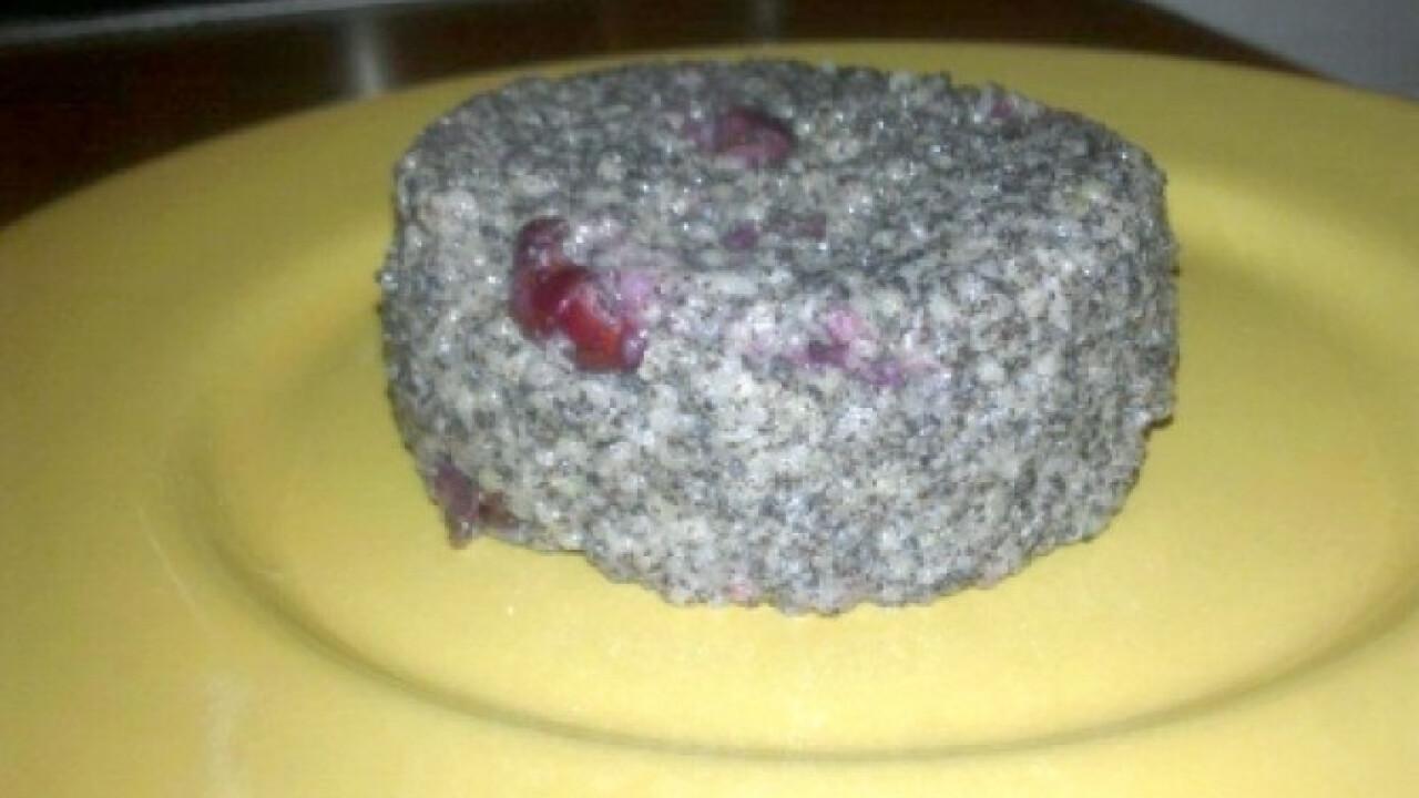 Meggyes-mákos köles desszert