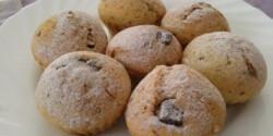 Fahéjas muffin csokidarabokkal