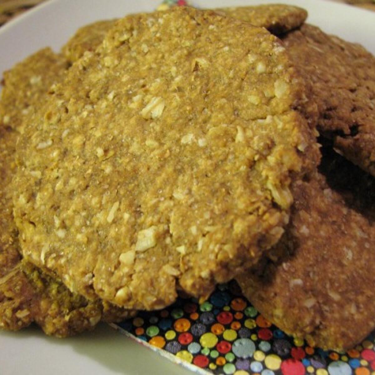Ezen a képen: Digestive keksz házilag