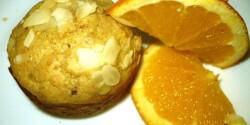Diétás narancsos mandulás muffin
