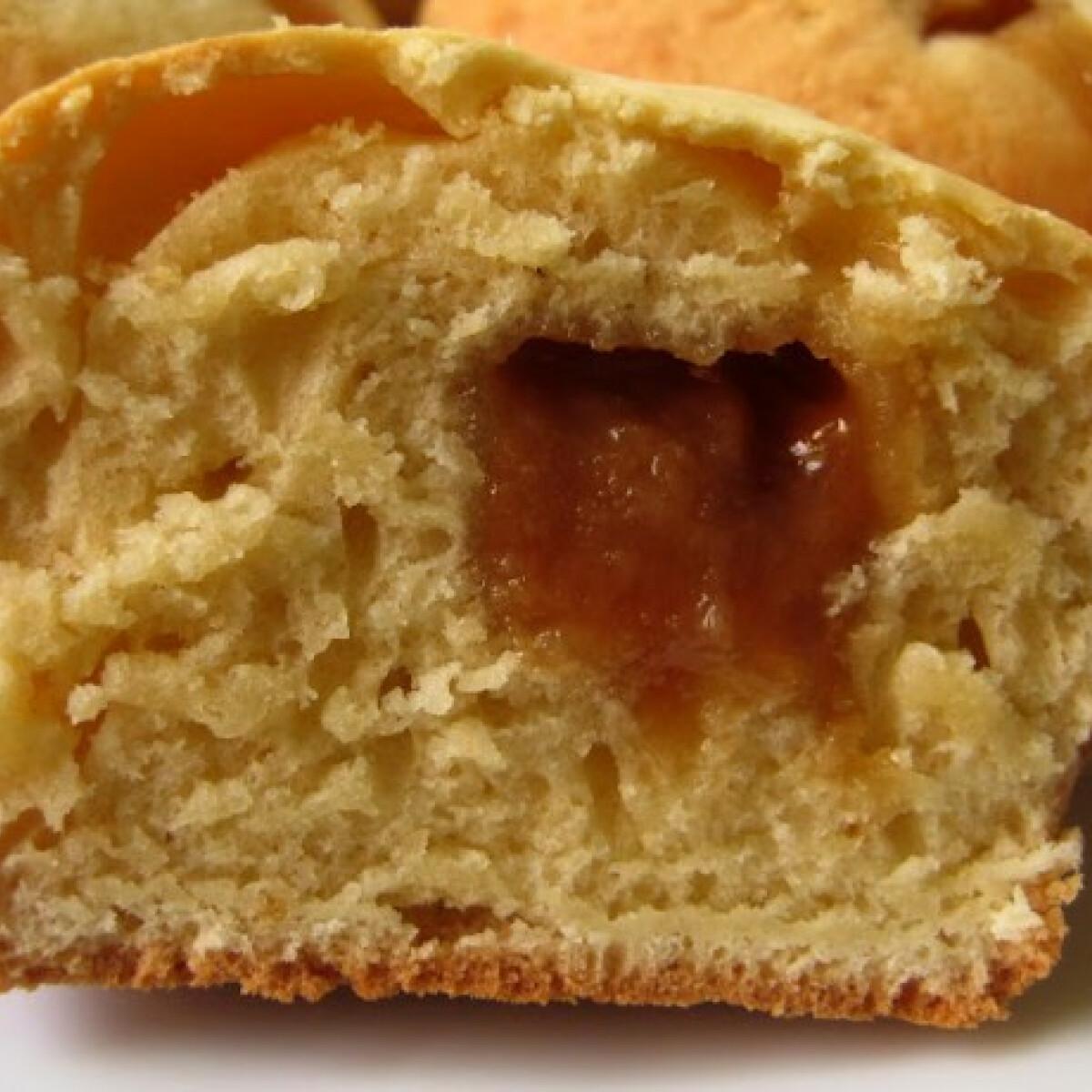 Ezen a képen: Karamellás muffin Flórától