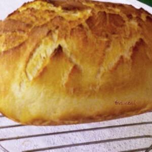 Kukoricás kenyér jénaiban sütve