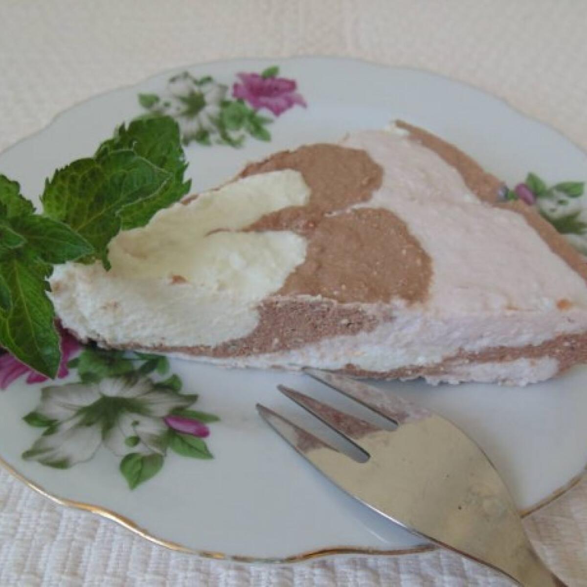 Ezen a képen: Túró-trió desszert