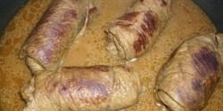 Marhahústekercs