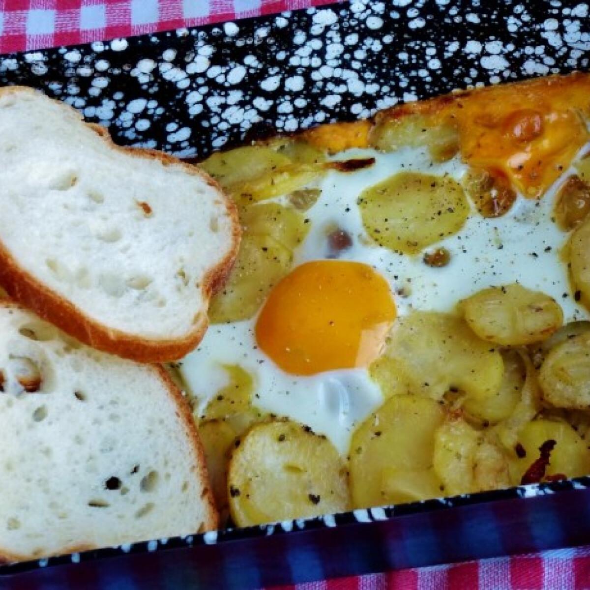 Ezen a képen: Tepsis krumpli Mártitól
