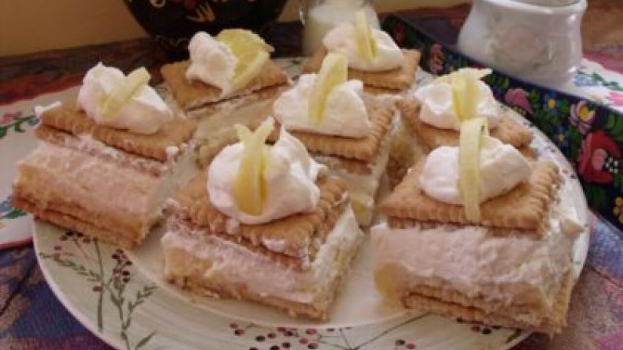 Citromos-krémes kekszsüti