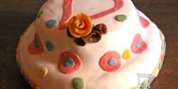 Mascarponés - trüffeles torta fondant bevonattal