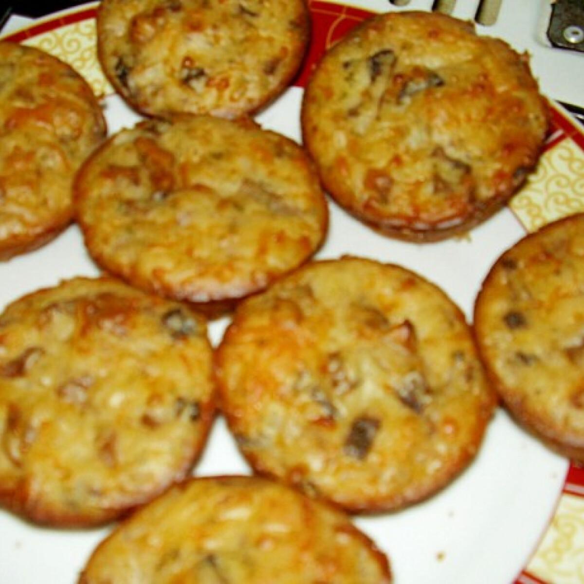 Gombás muffin Eszter konyhájából