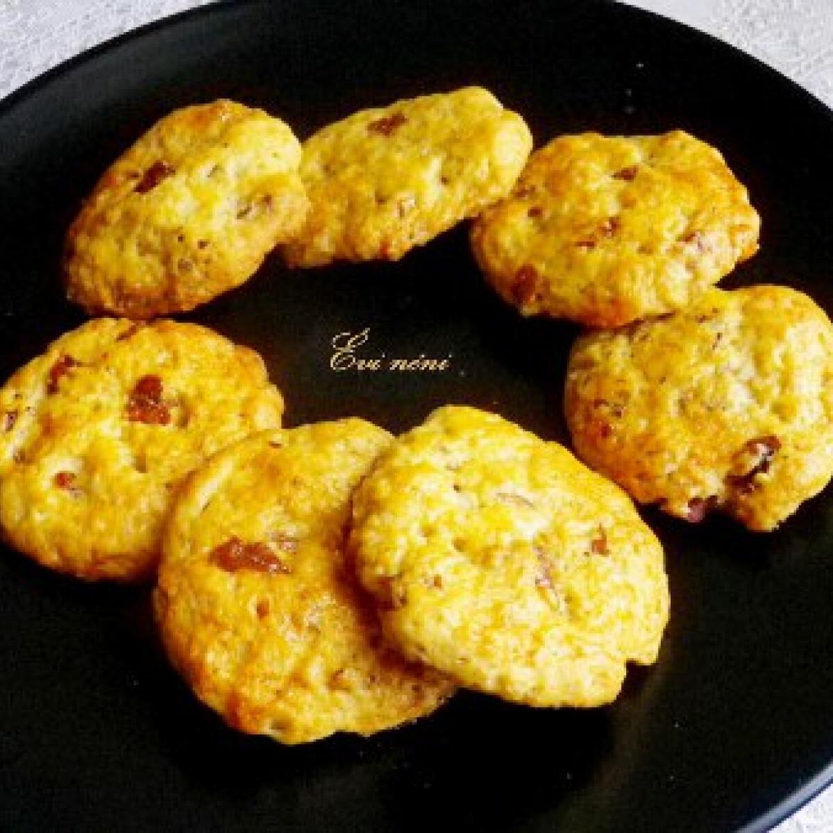 Juharszirupos-pekándiós keksz
