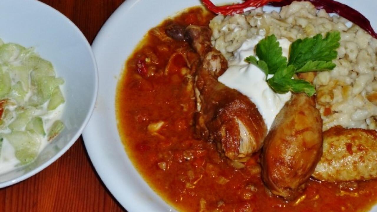 Csirkepaprikás Márti konyhájából