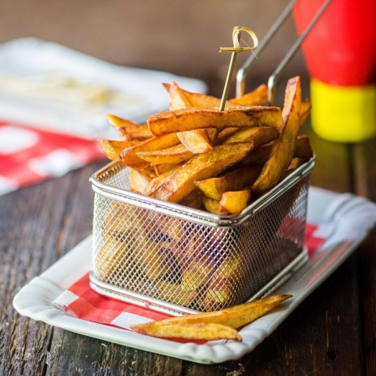 Ezen a képen: A tökéletes sült krumpli