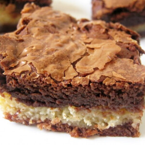 Triplacsokis brownie
