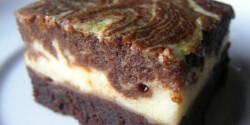 Márványos brownie Lúdanyótól