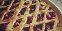 Amerikai cseresznyés pite