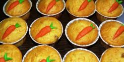 Nyusziváró répás muffin