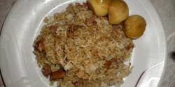 Gyors rizses csirkemáj