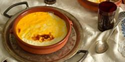 Sült rizspuding