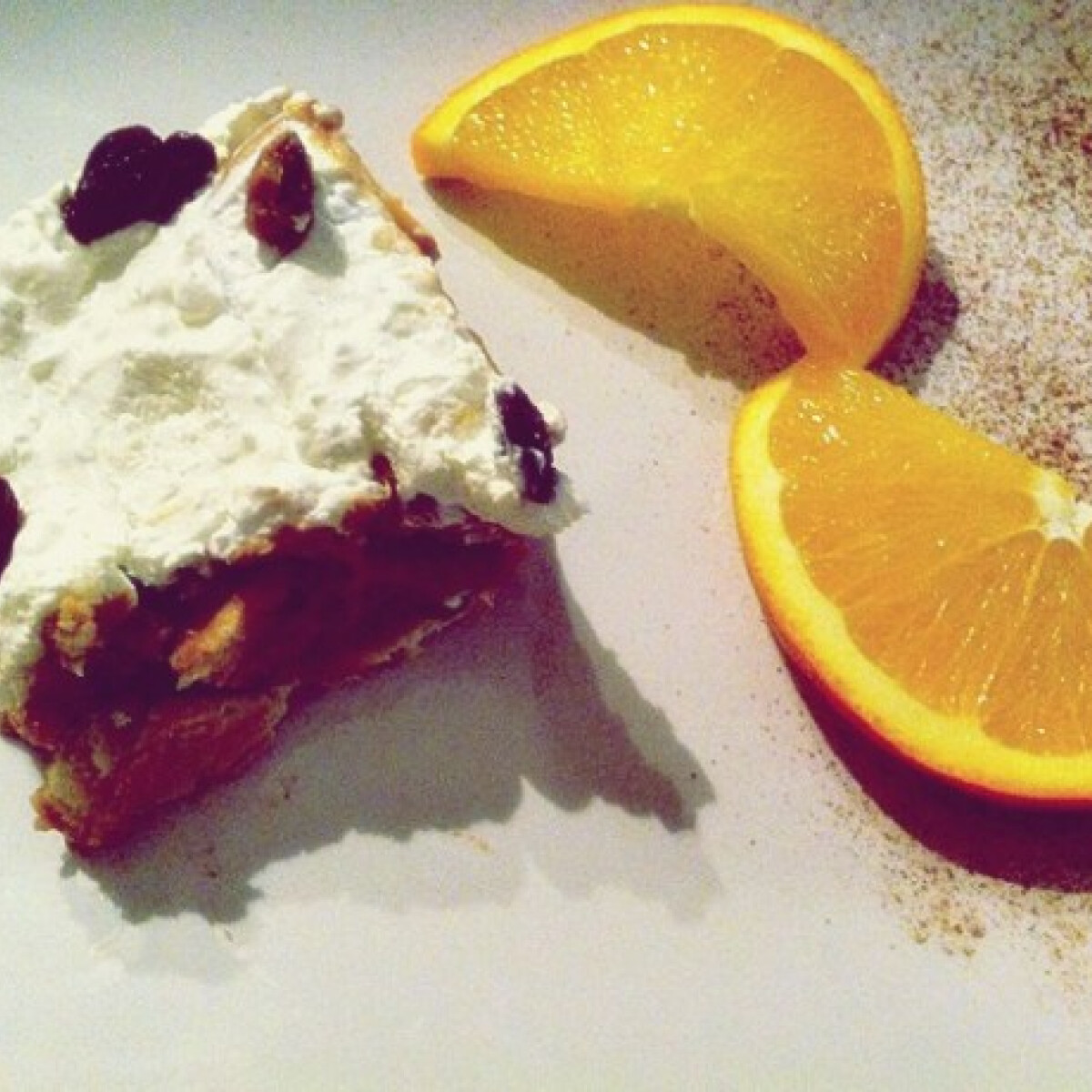 Ezen a képen: Túrókrémes kekszszelet