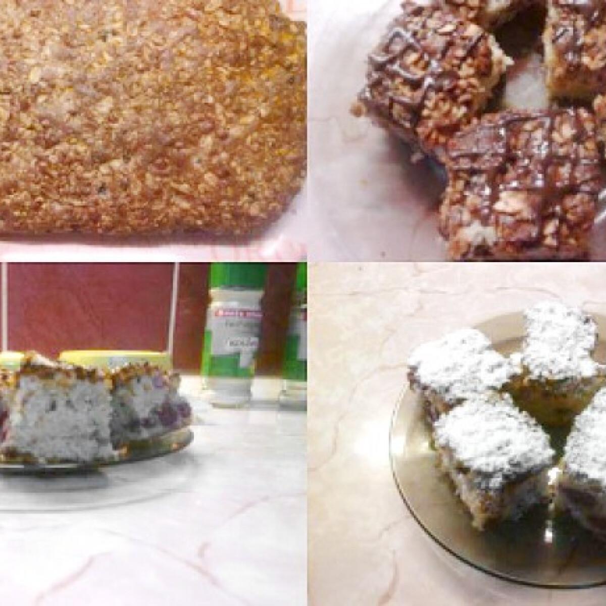 Mogyorós-gyümölcsös sütemény