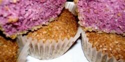 Levendulás-kókuszos muffin