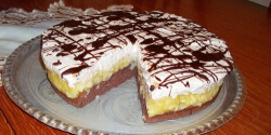 Almás-mascarponés torta