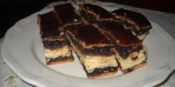 Mákos - túrós süti