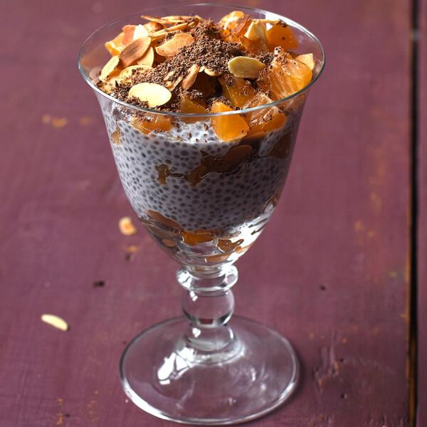 Mandarinos-mákos-mandulás cukormentes chiapuding