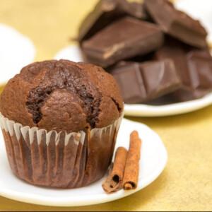 Duplacsokis rusztikus muffin