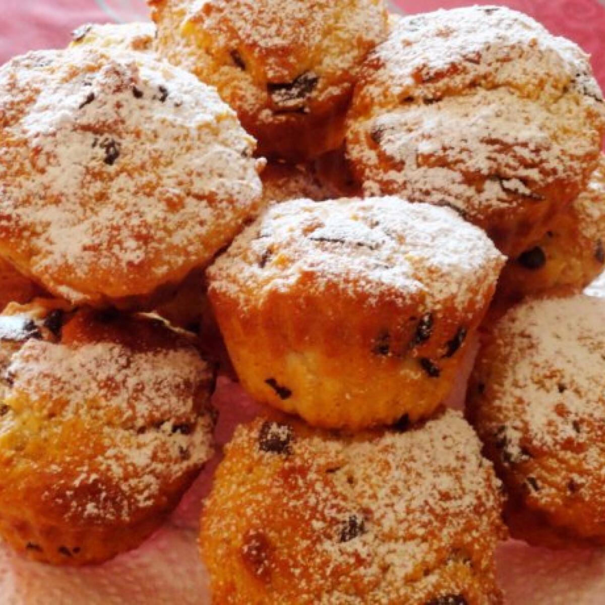Ezen a képen: Túrós muffin Glaser konyhájából