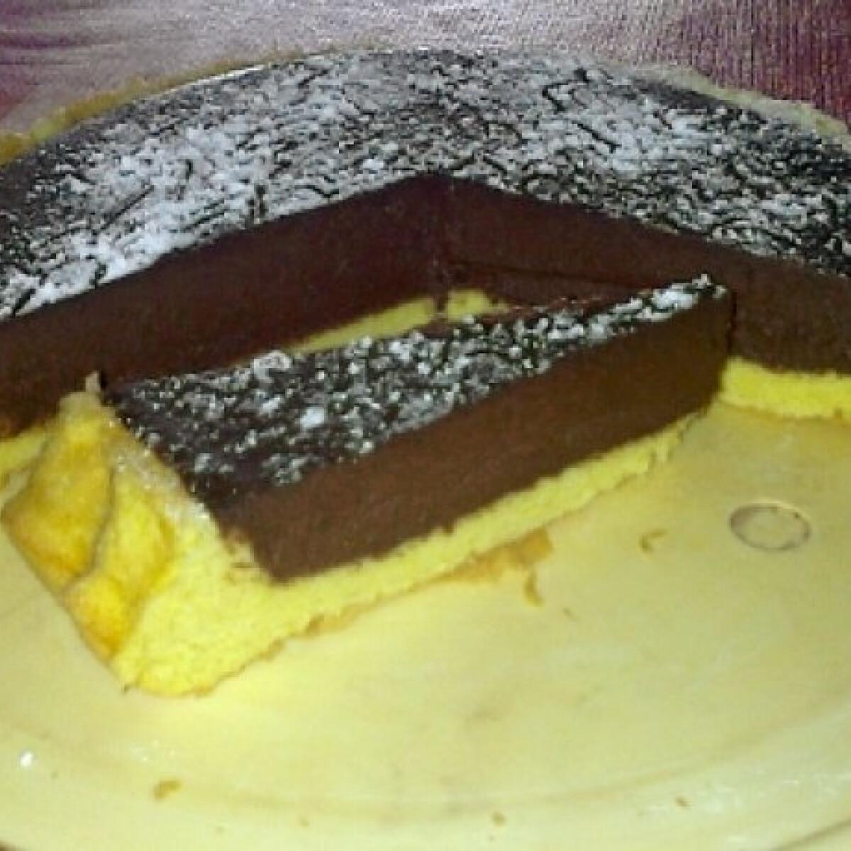Ganache krémes torta