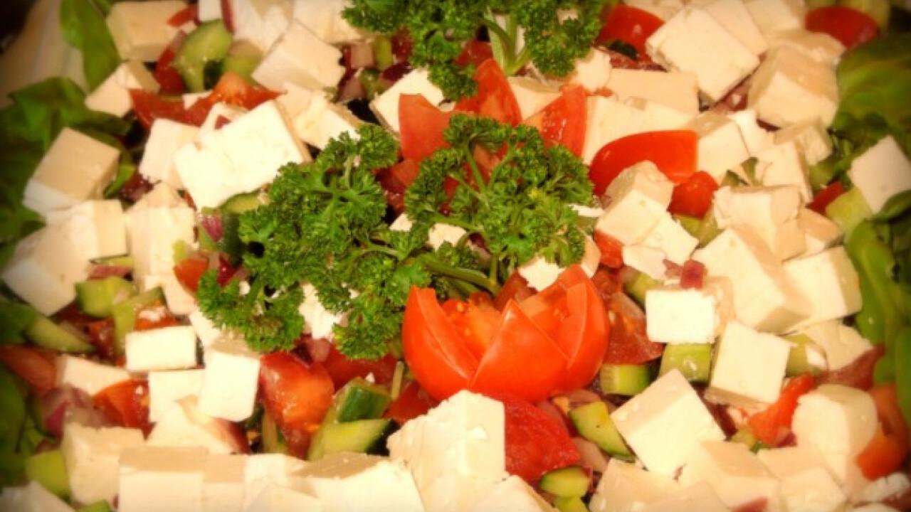Mediterrán sopszka saláta