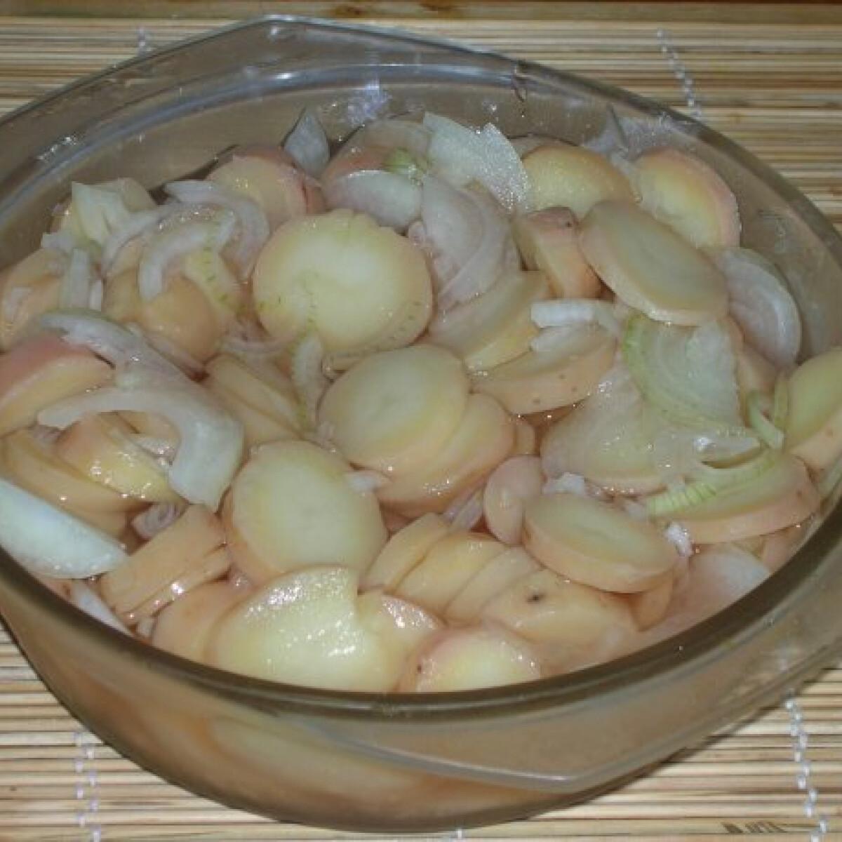 Ecetes krumplisaláta