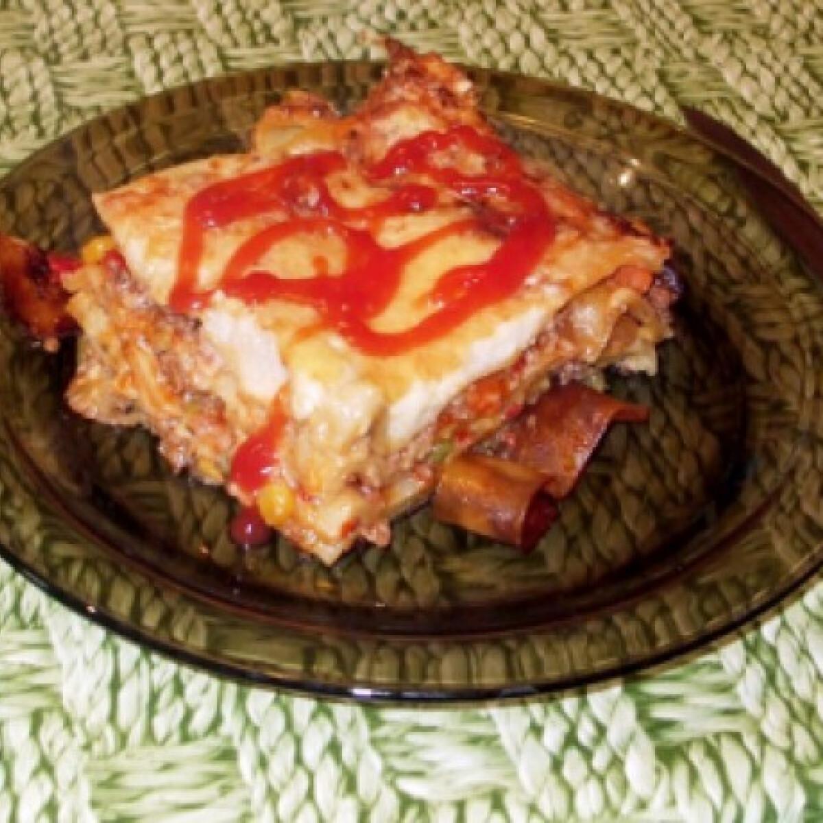 Ezen a képen: Zöldséges lasagne