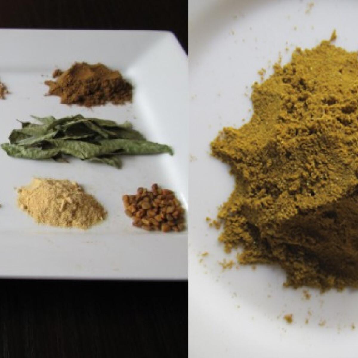 Ezen a képen: Curry keverék Helgától