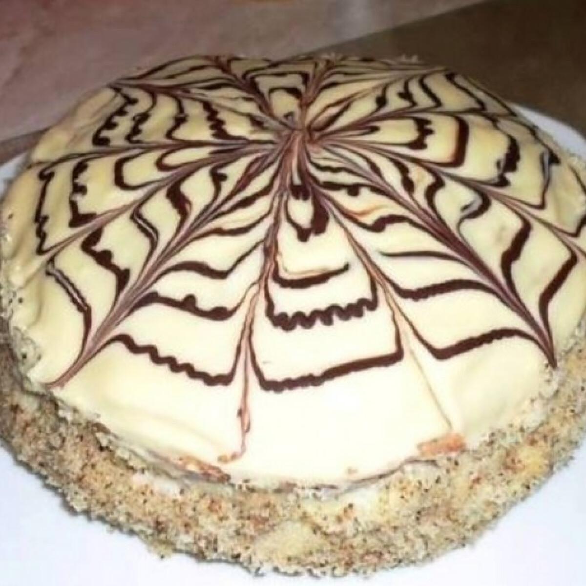 Ezen a képen: Eszterházy-torta Nagymama konyhájából