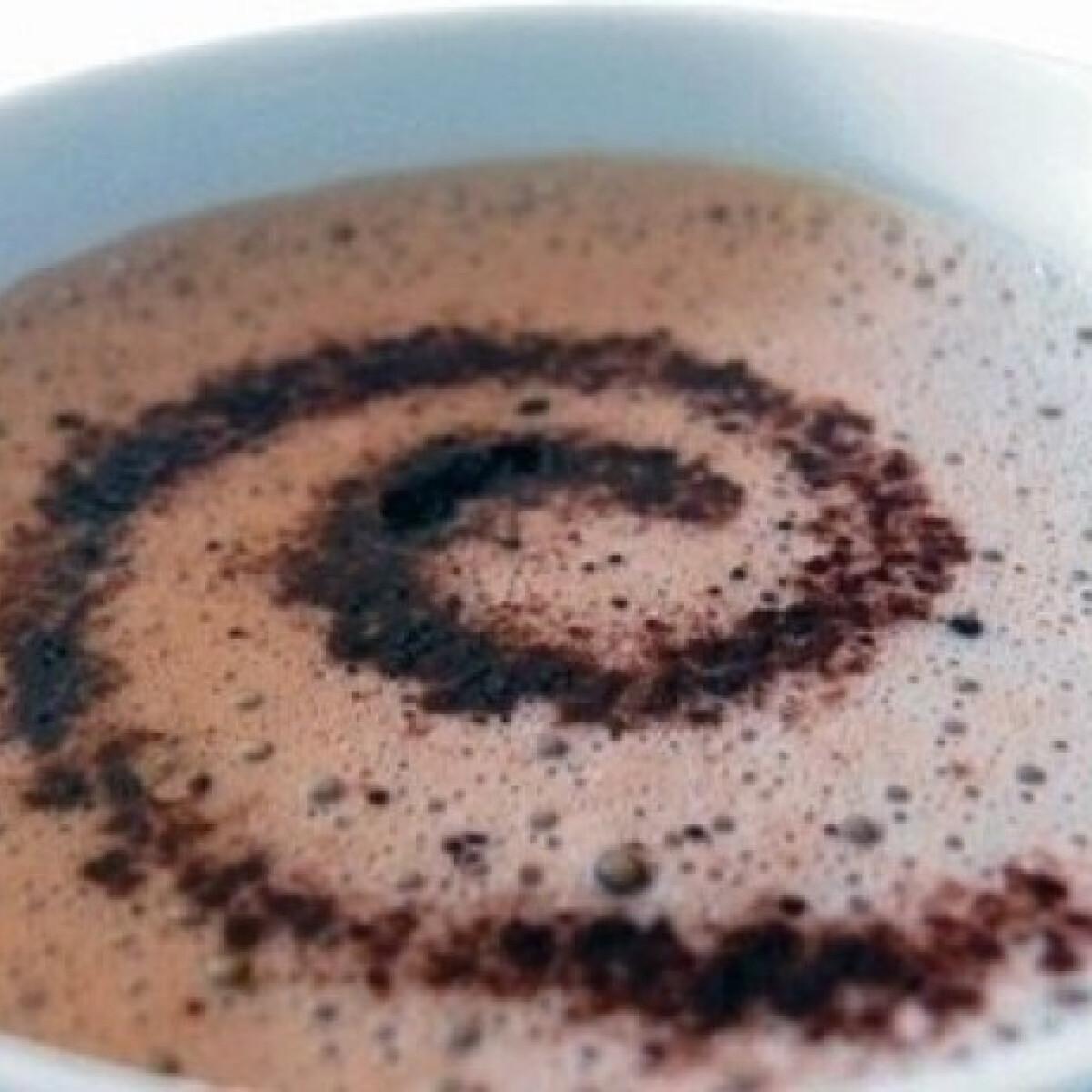 Ezen a képen: Forró csokoládé