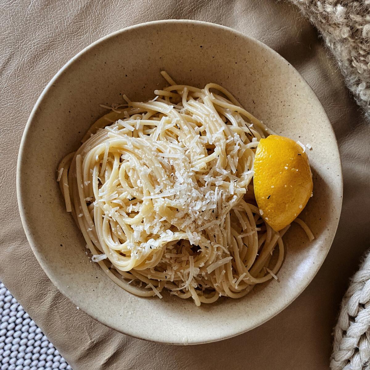 Ezen a képen: Pasta al Limone - Citromos tészta